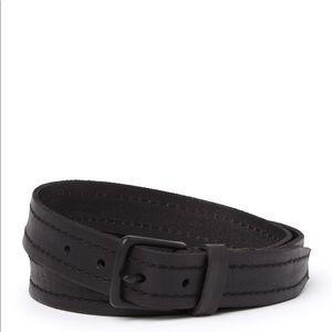 New all saints 30mm belt stitch detailing size 40